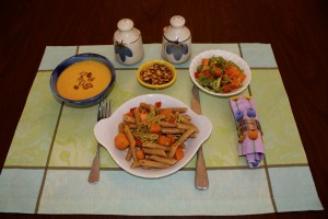 Butternut Squash four ways.