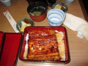 Unagi for lunch