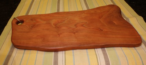 cherry wood cutting board up for grabs