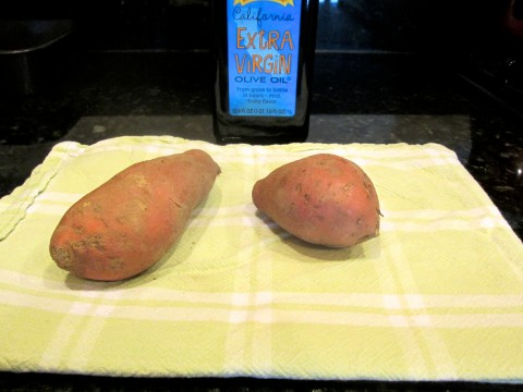how to cook sweet potatoes in the oven fast