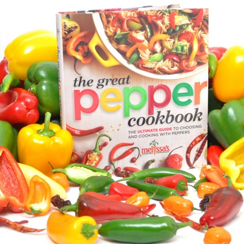 Melissa's Great Pepper cookbook for one lucky winner
