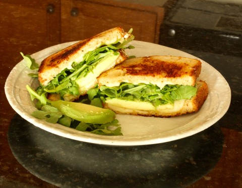 One of the best grilled cheese sandwiches ever